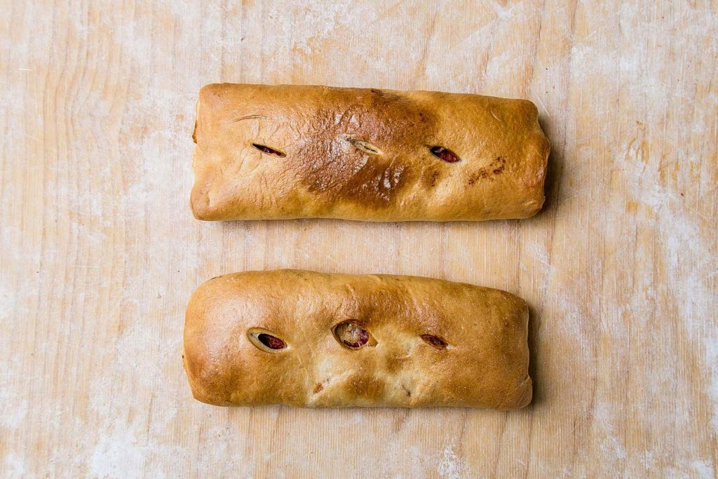 Pepperoni Stuffed Bread (w/ cheese)