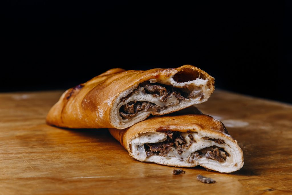 Cheesesteak Stuffed Bread