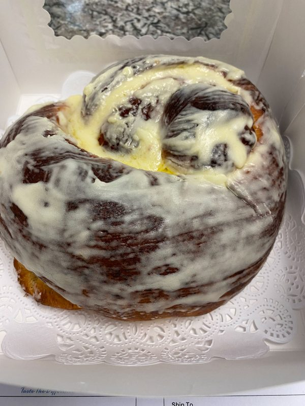 Cinnamon Swirl Bread (Cream Cheese Icing)