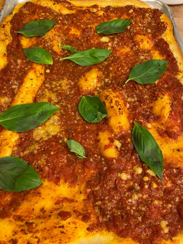 Half Sheet Tomato Pie