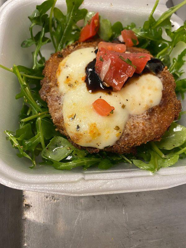boaggios fried tomato arugula